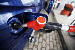 Kopende benzine Royalty-vrije Stock Afbeelding