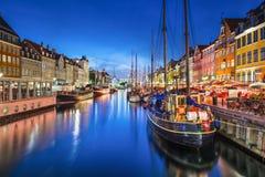 Kopenhaga Obrazy Royalty Free