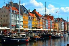 Kopenhaga, Dani Obrazy Stock