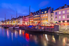 Kopenhaga Dani fotografia stock