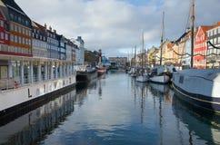 Kopenhaga Dani Zdjęcie Royalty Free