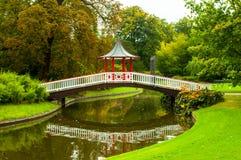 Kopenhaga Dani, Frederiksberg park, - Fotografia Stock