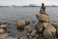 KOPENHAGA DANI, WRZESIEŃ, -, 07: Sławna statua littl Zdjęcia Royalty Free