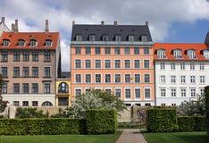 Kopenhaga domy Zdjęcia Stock