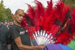 Kopenhaga dumy parada 2016 zdjęcia royalty free