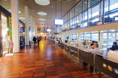 Kopenhaga lotniska wnętrze Zdjęcia Royalty Free