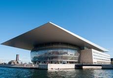 Kopenhaga opera Zdjęcia Royalty Free