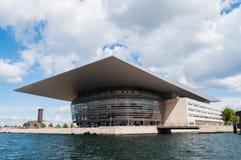 Kopenhaga opera Zdjęcie Royalty Free