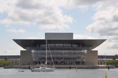 Kopenhaga opera - Krajowa opera Dani zdjęcia royalty free