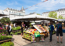 Kopenhaga rynek Obraz Royalty Free