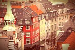 Kopenhaga Stary miasteczko Zdjęcia Royalty Free