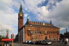 Kopenhaga urząd miasta Fotografia Royalty Free