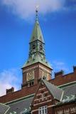 Kopenhaga urząd miasta w Kopenhaga, Dani Zdjęcia Stock