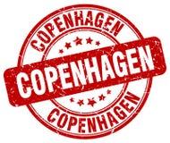 Kopenhaga znaczek royalty ilustracja