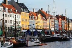kopenhagen λιμανιών νέο Στοκ Φωτογραφία