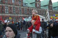 KOPENHAGEN - 12. DEZEMBER Lizenzfreies Stockfoto