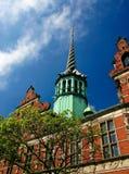 Kopenhagen borse lizenzfreie stockfotos
