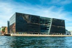 Kopenhagen, Dänemark - Bibliothek Stockfoto