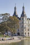 KOPENHAGEN, DÄNEMARK - 8. SEPTEMBER: Sortedams Soe in Kopenhagen Lizenzfreies Stockfoto