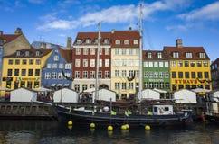 Kopenhagen Denemarken Stock Afbeelding
