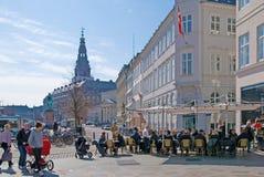Kopenhagen. Denemarken royalty-vrije stock fotografie