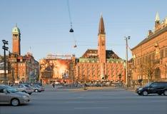Kopenhagen. Denemarken stock foto's
