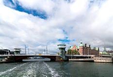 Kopenhagen. Denemarken. Royalty-vrije Stock Foto's