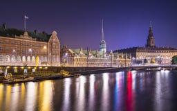 Kopenhagen Denemarken Stock Foto
