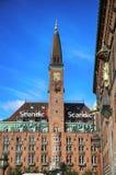KOPENHAGEN, DENEMARKEN - AUGUSTUS 15, 2016: Het Hotel van het Scandicpaleis is a Stock Foto