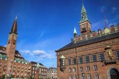 KOPENHAGEN, DENEMARKEN - AUGUSTUS 15, 2016: Het Hotel van het Scandicpaleis is a Royalty-vrije Stock Fotografie