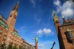 KOPENHAGEN, DENEMARKEN - AUGUSTUS 15, 2016: Het Hotel van het Scandicpaleis is a Royalty-vrije Stock Afbeeldingen
