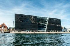 Kopenhagen, Denemarken - Bibliotheek stock fotografie