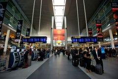 Kopenhagen-Flughafen Stockfoto
