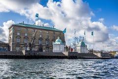 Kopenhagen-Flusskreuzfahrt, Dänemark Lizenzfreie Stockbilder