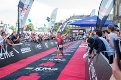 Kopenhagen Ironman 2016, Dänemark Stockfoto