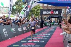 Kopenhagen Ironman 2016, Denemarken Royalty-vrije Stock Fotografie