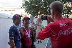 Kopenhagen Ironman 2016, Dänemark Lizenzfreie Stockbilder