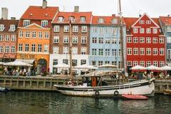 Kopenhagen - Nyhavn - der alte Hafen Stockfoto