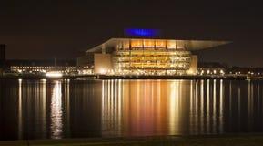 Kopenhagen-Opernhaus stockfoto