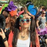 Kopenhagen Pride Parade Royalty-vrije Stock Foto's