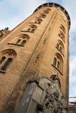 Kopenhagen-runder Kontrollturm Stockbilder
