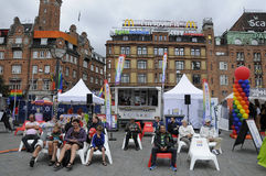 KOPENHAGEN-STOLZ 20 JAHRE FEIER- Lizenzfreie Stockfotos