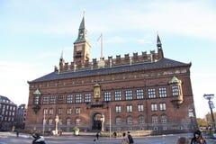 KopenhagenRathaus ist die Hauptsitze der Stadtverordnetenversammlung und des Bürgermeisters des Kopenhagen-Stadtbezirkes, Dänemar stockbild