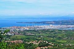 Koper σλοβένικο Istra - πεζοπορία και στοκ εικόνα με δικαίωμα ελεύθερης χρήσης