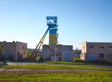 Koper da mina de sal Soledar, Ucrânia imagens de stock