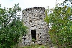 Koper Eslovenia - torre medieval foto de archivo libre de regalías
