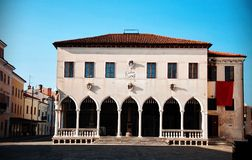 Koper Loggia Palace Royalty Free Stock Photography
