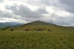 Koper Słoweński Istra - Wycieczkujący i jechać na rowerze Zdjęcie Royalty Free