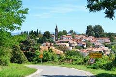 Koper Sloveense Istra - Wandeling en het biking Royalty-vrije Stock Fotografie