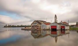 Koperhaven Michigan royalty-vrije stock foto's